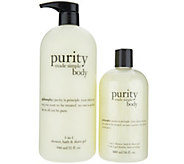 philosophy super-size purity body cleansing gel Auto-Delivery - A346720