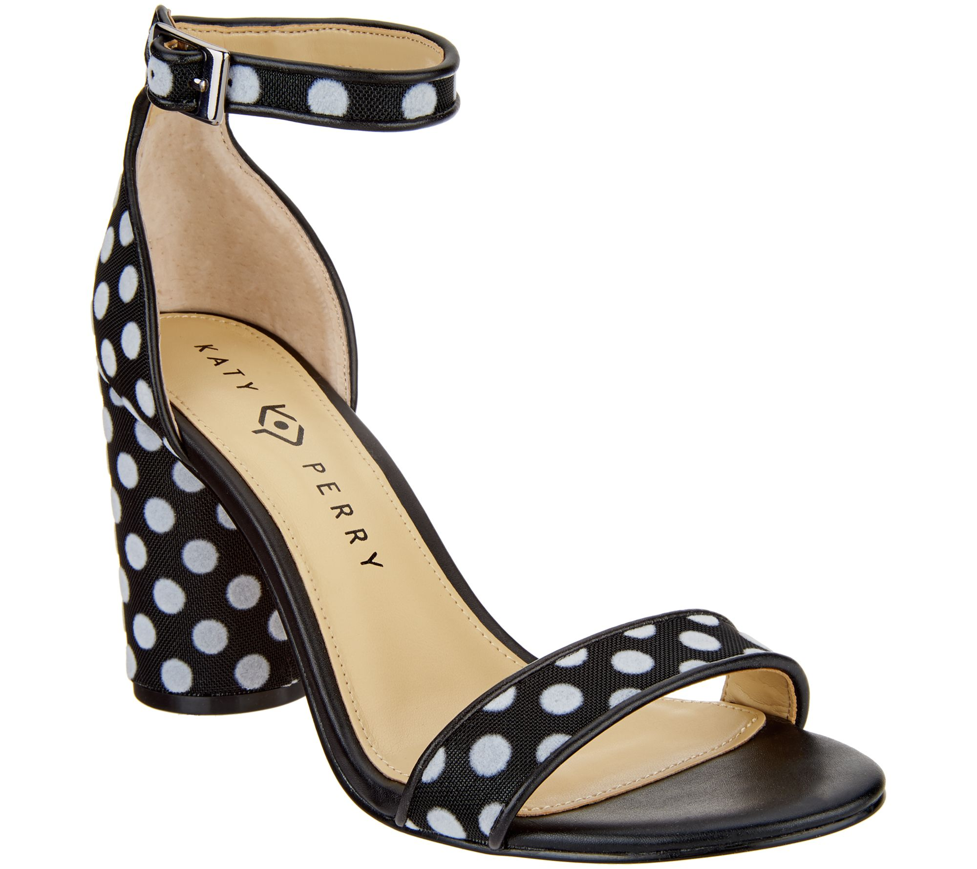 3cf38d04093e29 Katy Perry Ankle Strap Heeled Sandals- The Clara - Page 1 — QVC.com