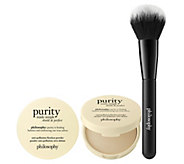 philosophy purity made simple setting treatment powder duo - A351520