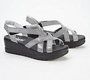 Alegria Leather Multi-Strap Wedge Sandals- Myka - A352820