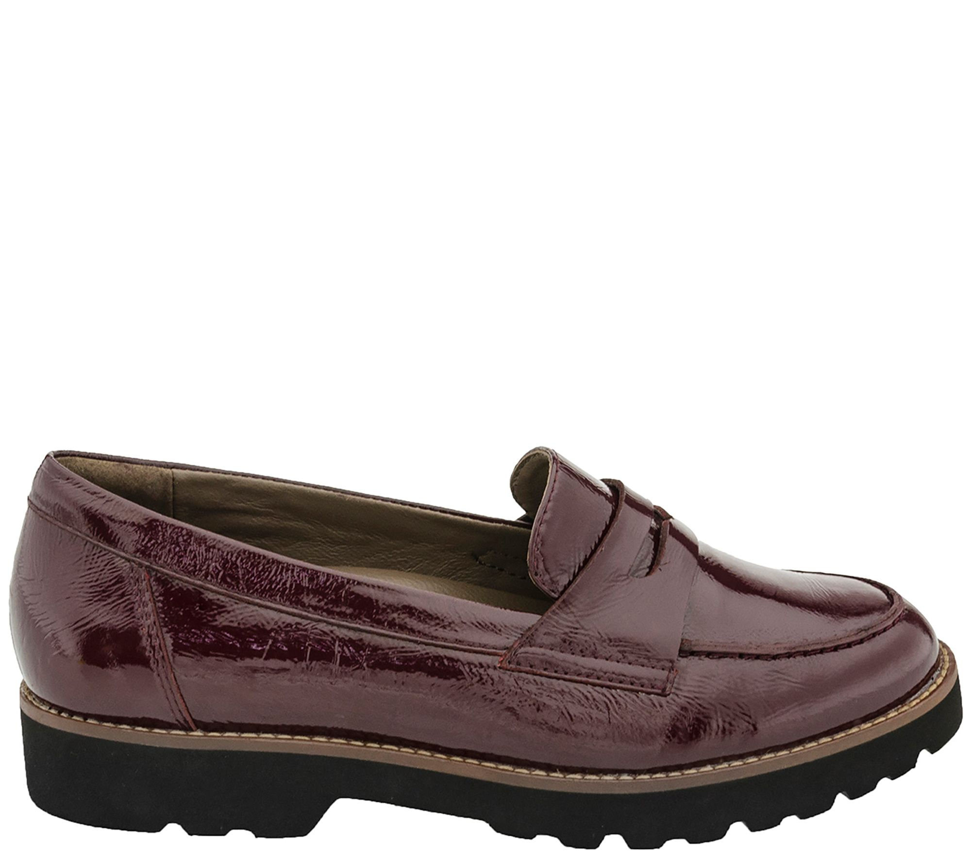 d1efdb45bad85 Earthies Leather Slip On Loafers - Braga — QVC.com