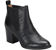 Sofft Leather Ankle Boots - Welling - A361620