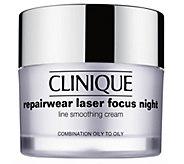 Clinique Repairwear Laser Focus Night Cream, 1.7 oz - A414420