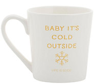 Life is Good Celebrate Snowflake Everyday Mug - A415920