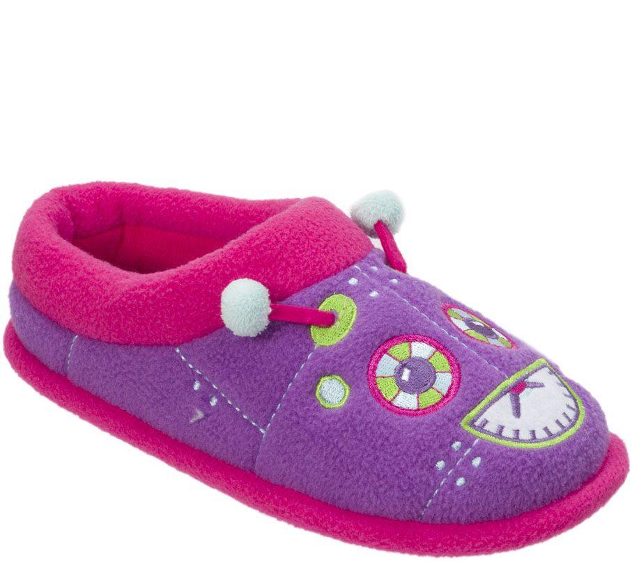 d2861fe24d141 Dearfoams Kid s Novelty Clog Slippers — QVC.com
