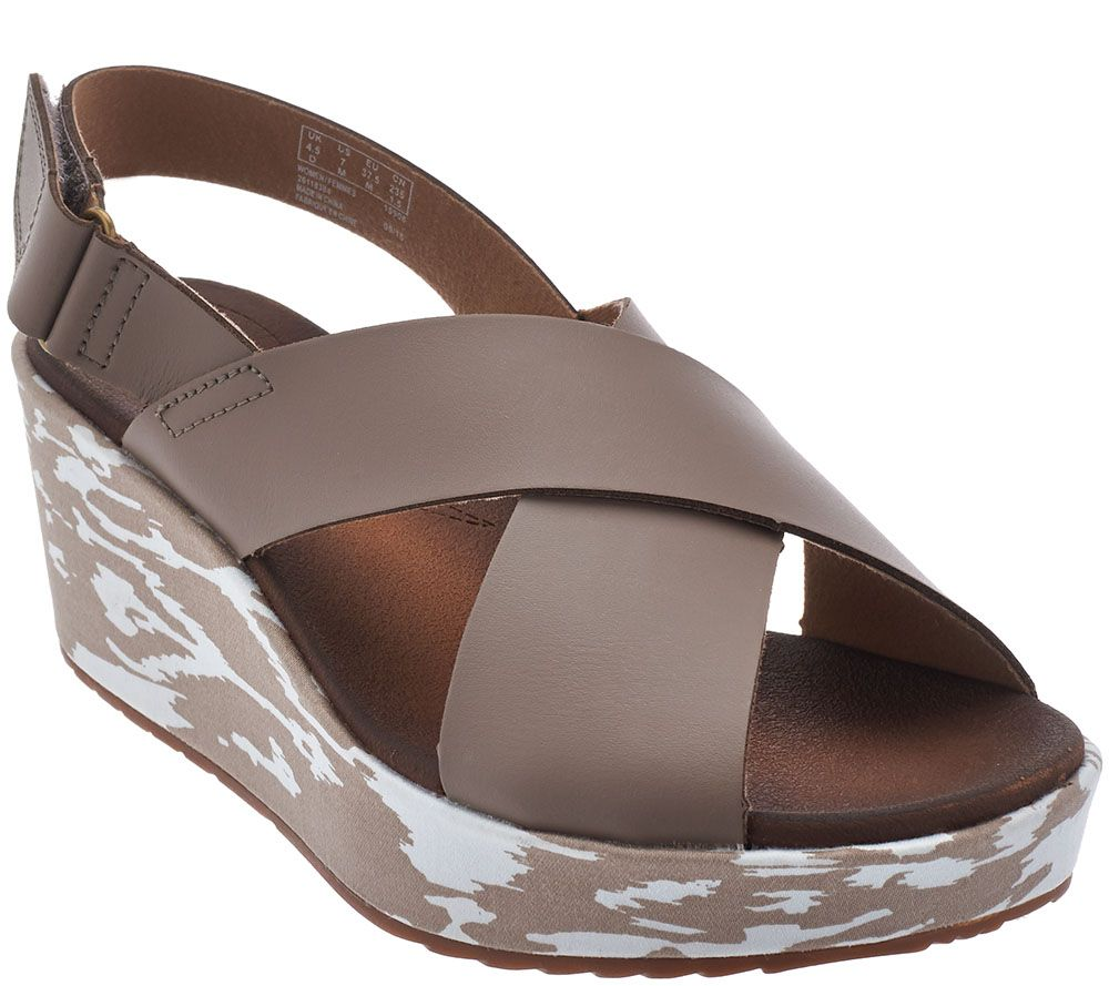 Hale — Stasha Leather Clarks Collection Sandals Wedge 9eH2YDWEI