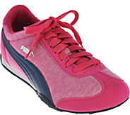 PUMA Jersey Knit Lace-Up Sneakers - 76 Runner Fun - A286321