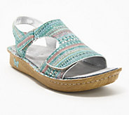 Alegria Leather Embroidered Sandals - Viki - A290121