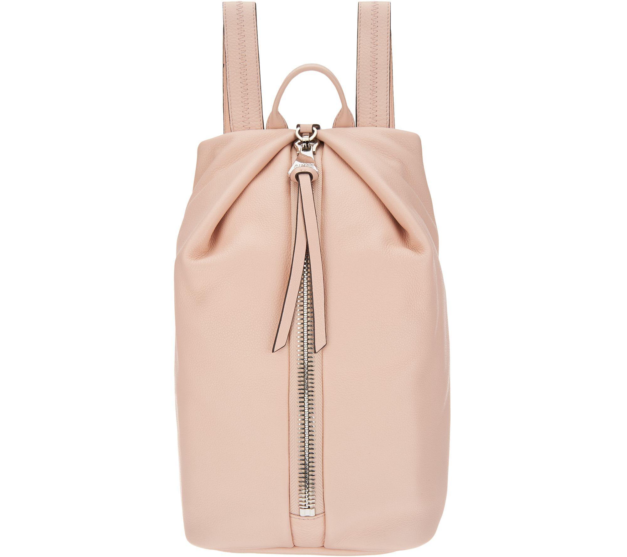 Rose Pink Leather Backpack- Fenix Toulouse Handball c6e88d13f6eab