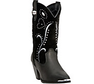 Dingo Leather Boots with Stud Detail - Ava - A335621