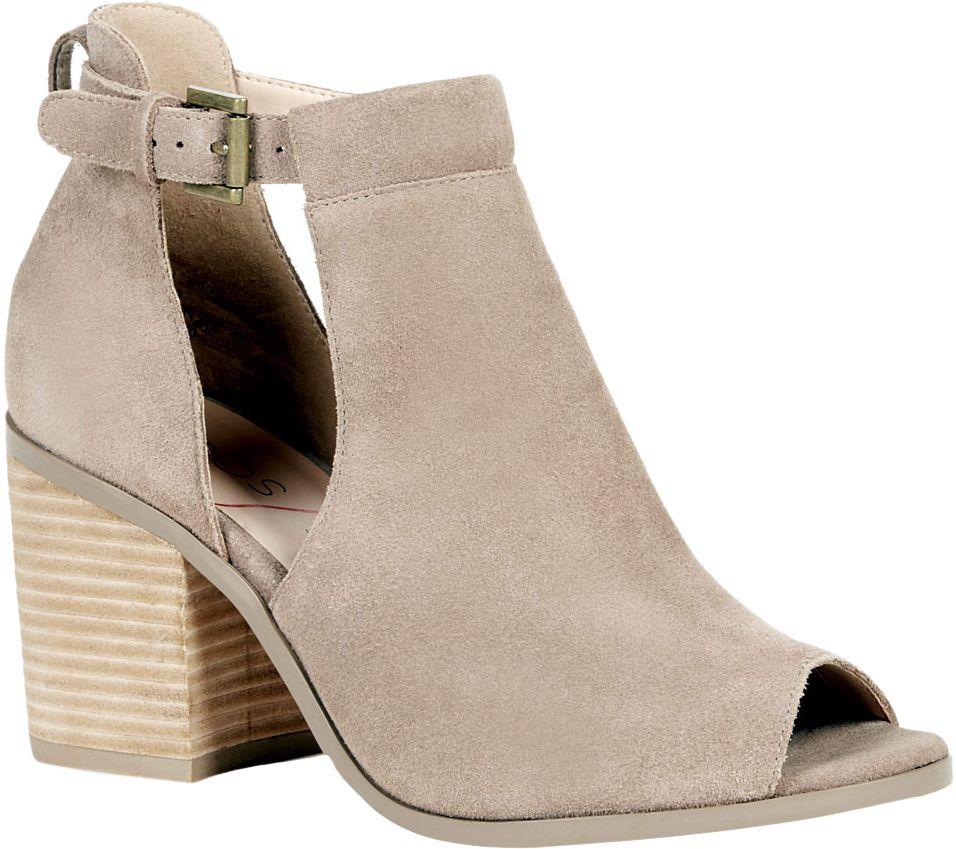 dabccdec1eb Sole Society Suede Block Heel Sandal - Ferris - Page 1 — QVC.com