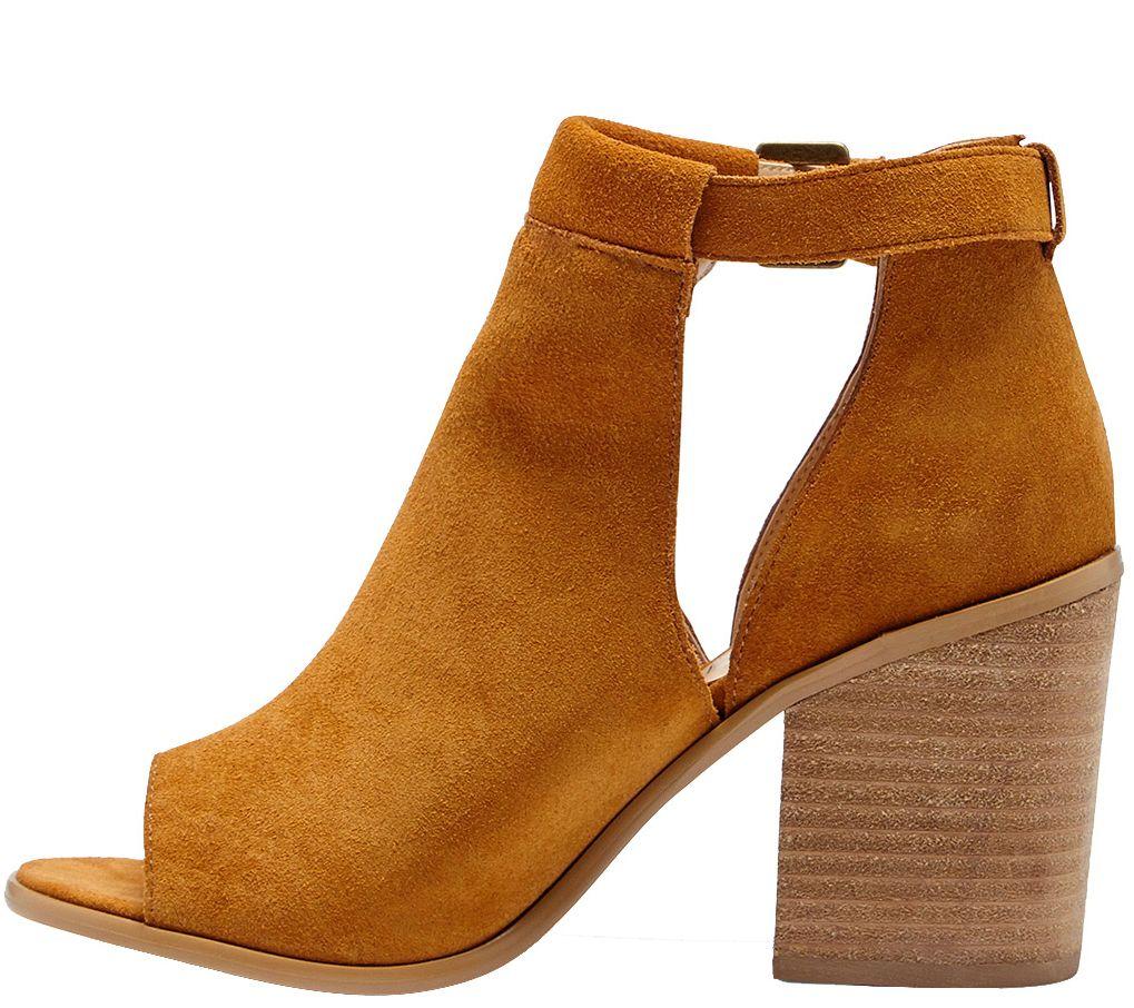 Block Sole Society Suede — Heel Sandal Ferris f7bYv6gy