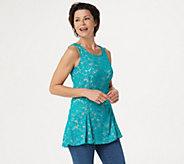Kathleen Kirkwood Lace Swing Cami - A351221