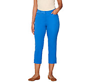 Isaac Mizrahi Live! Petite 24/7 Stretch Crop Pants - A265922