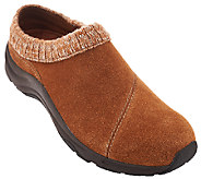 Vionic Water-Resistant Clogs with Knit Collar - Arbor - A270722
