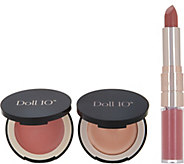 Doll 10 Nude Lip, Blush & Highlighter Power of Pretty Collection - A290422