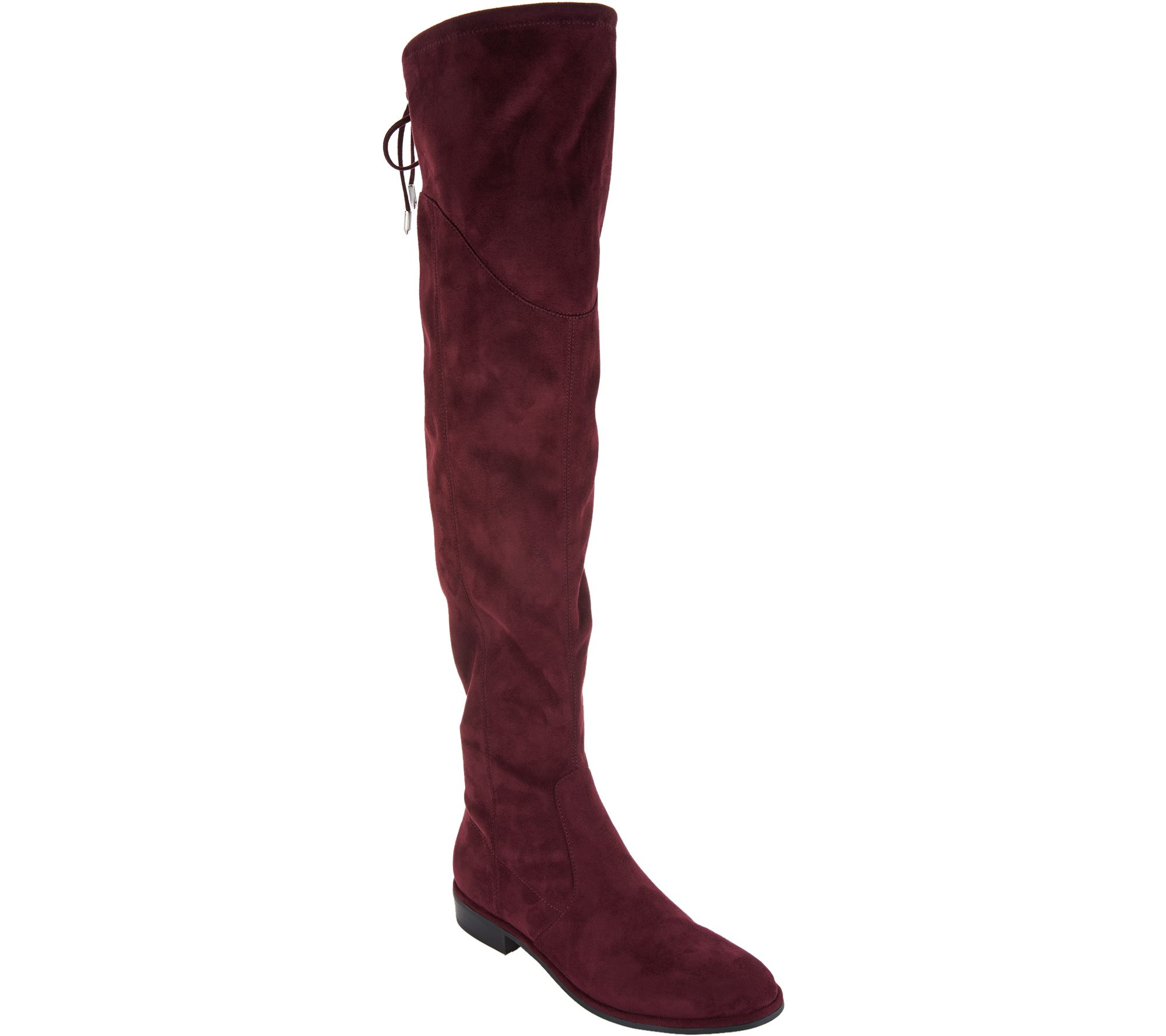 36aef449661 Marc Fisher Faux Suede or Velvet Over-the-Knee Boots - Hulie - Page 1 —  QVC.com