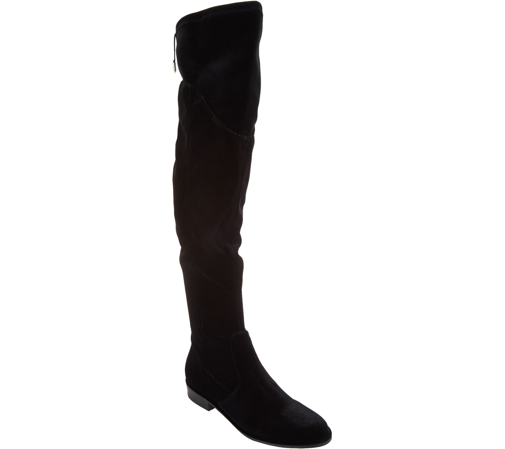 cc7aeca0da6 Marc Fisher Faux Suede or Velvet Over-the-Knee Boots - Hulie - Page 1 —  QVC.com