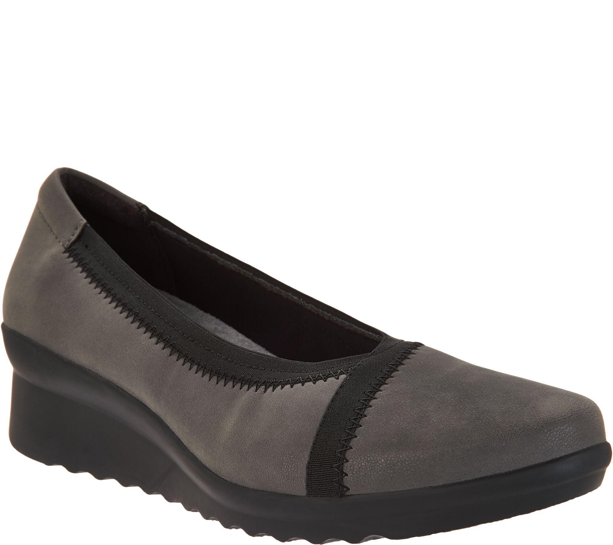 971ddf7120eb CLOUDSTEPPERS by Clarks Low Wedge Pumps - Caddell Dash - Page 1 — QVC.com