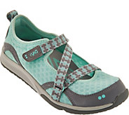As Is Ryka Adjustable Mesh Mary Jane Sneakers - Kailee - A296922