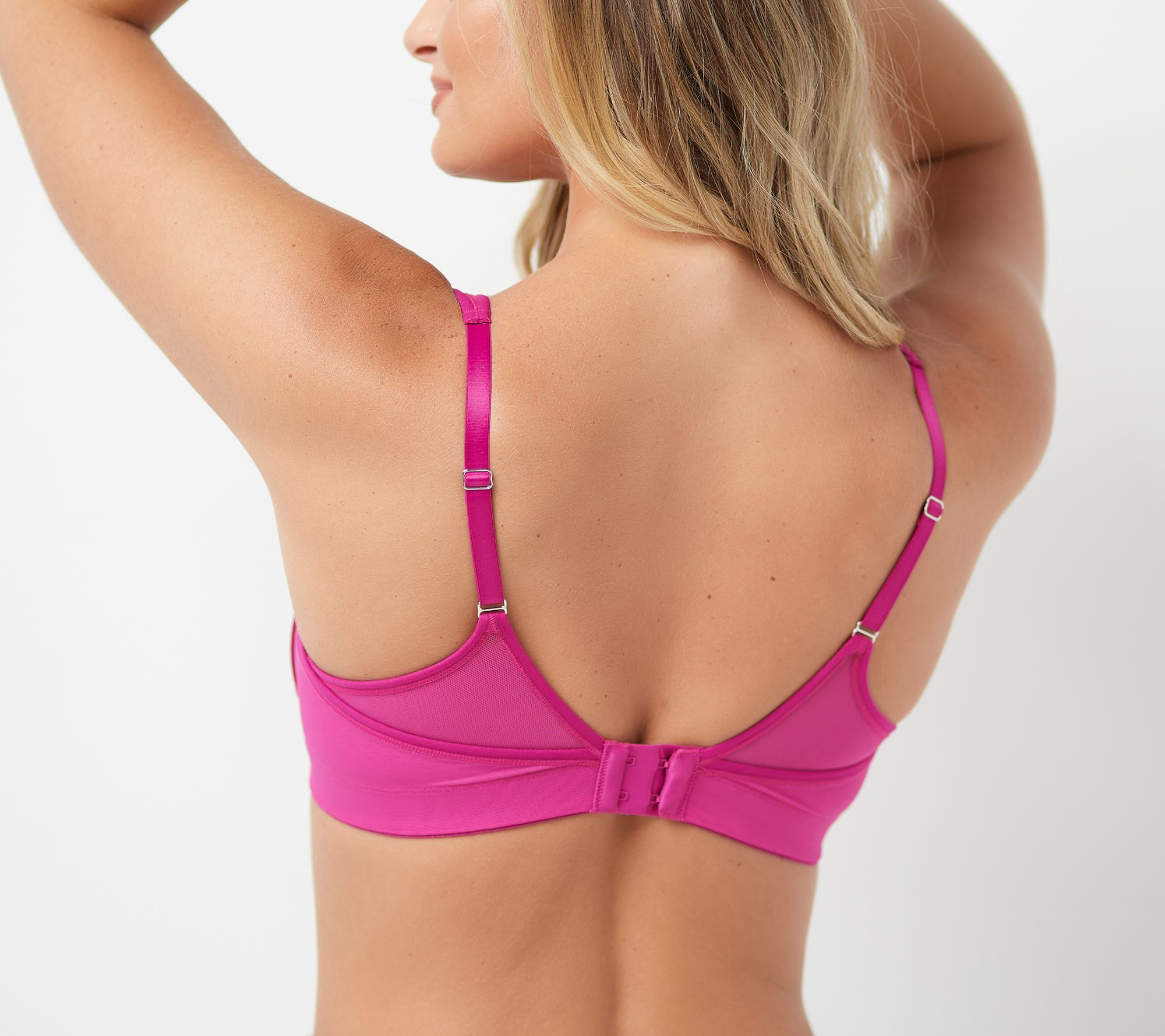 3358807611d Breezies Smooth Radiance Unlined Wirefree Support Bra - Page 1 — QVC.com