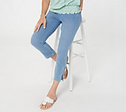 Belle by Kim Gravel Flexibelle Pull-On Cropped Jeans Regular - A301822