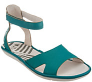 FLY London Leather Ankle Strap Sandals - Mafi - A305122