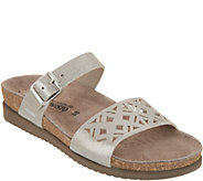 MEPHISTO Leather Double Strap Slide Sandals - Hirena - A305422