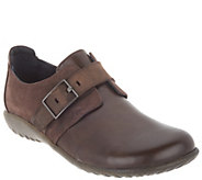 Naot Leather Flats with Buckle Detail - Tane - A311022