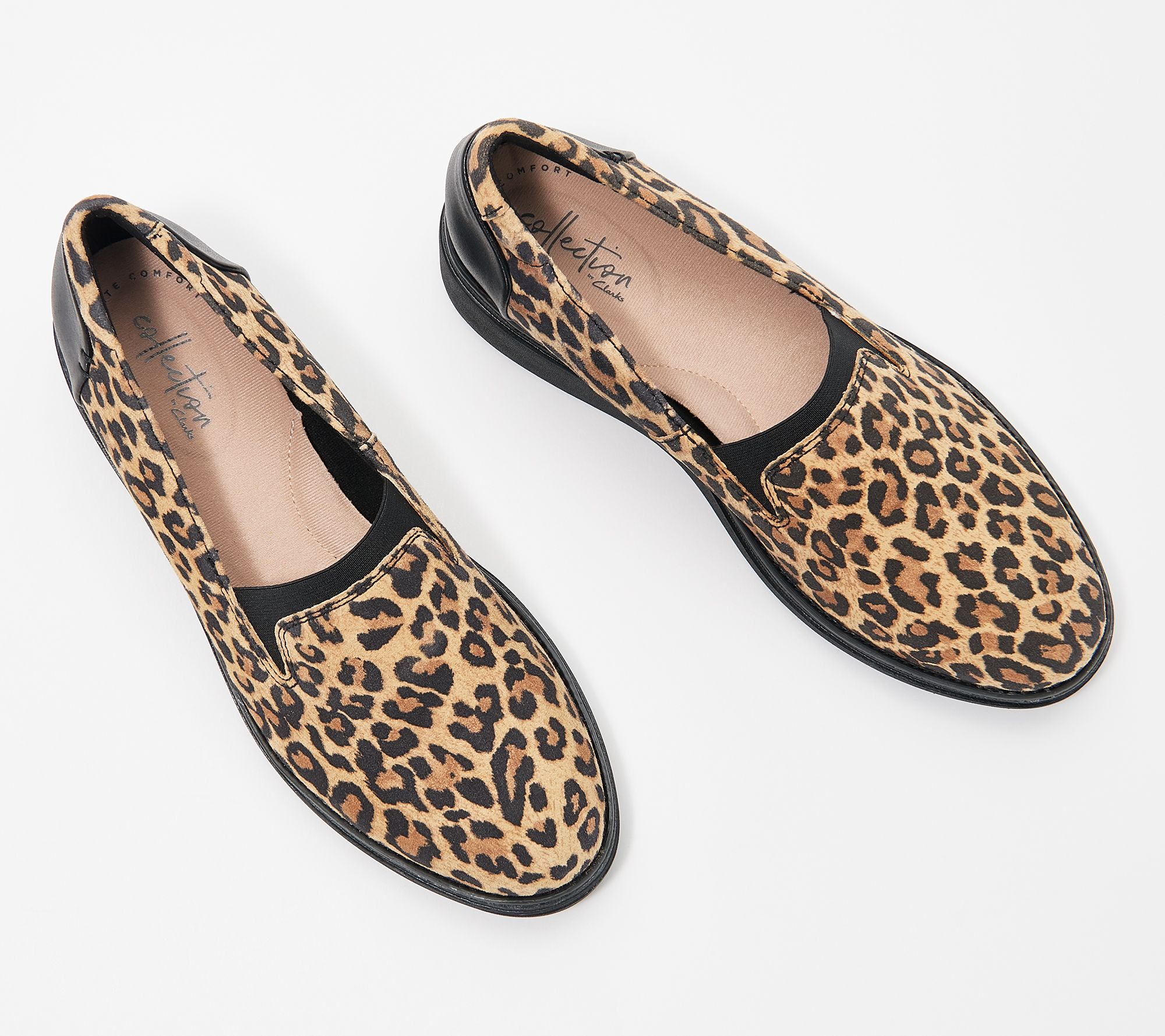 dba44c2b253 Clarks Suede Slip-On Loafers - Sharon Dolly - Page 1 — QVC.com