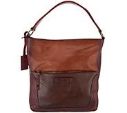 Pikolinos Leather Tricolor Hobo Handbag - A344522