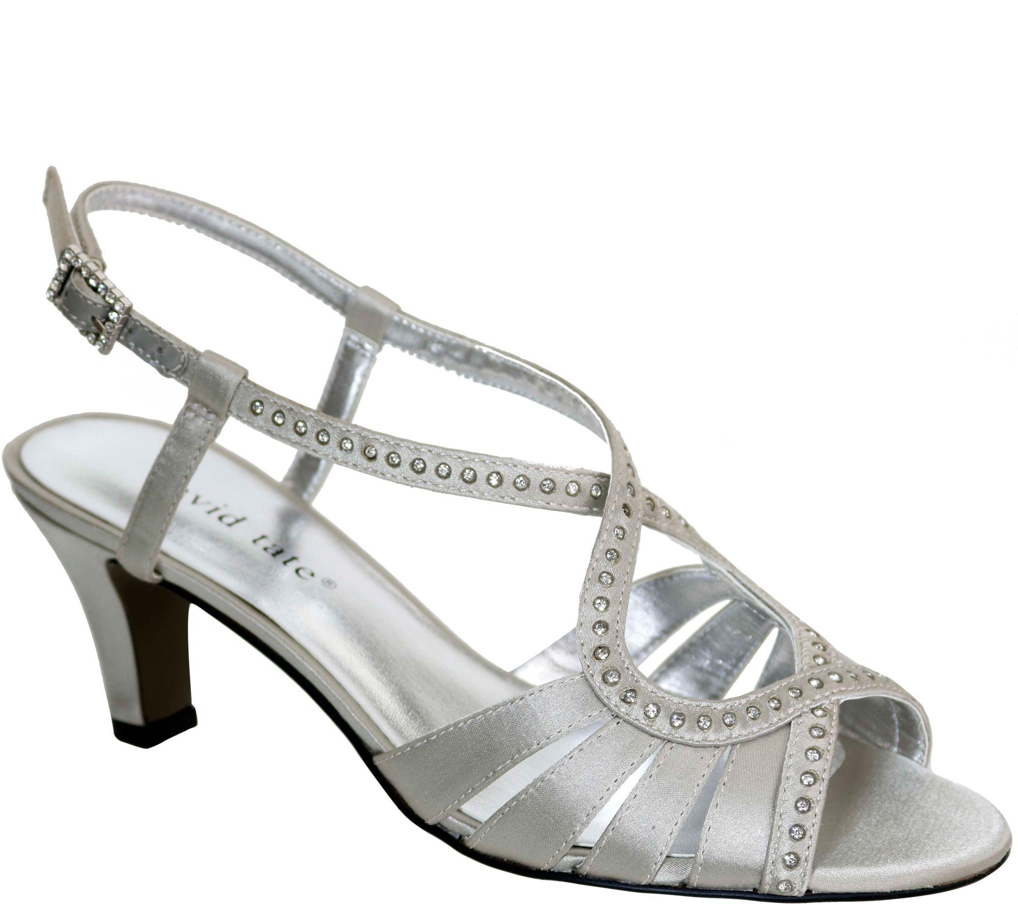 43c88b3e34ba David Tate Dress Sandals - Whisper — QVC.com