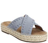 Aerosoles Chunky Platform Sandals - Rose Gold - A413622