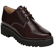 Franco Sarto Lace Up Patent Oxfords - Conroe - A414122