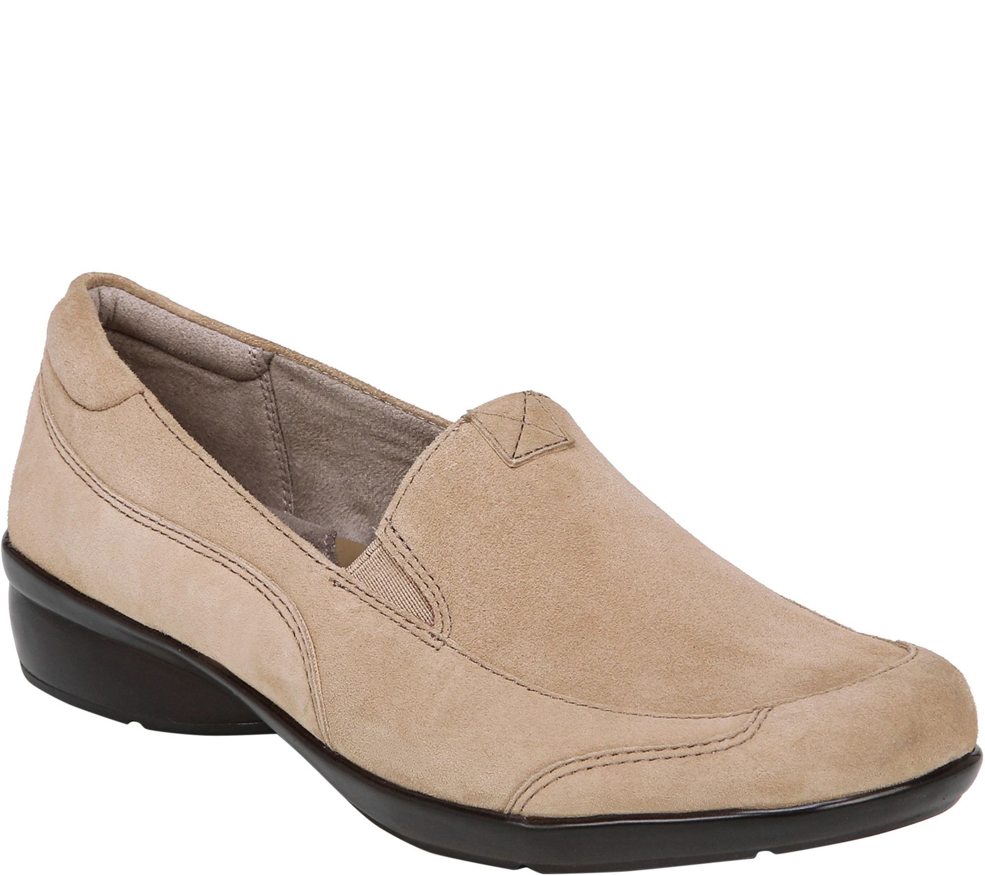 1e9c83fa392 Naturalizer Leather Slip On Loafers - Channing - Page 1 — QVC.com