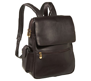 Le Donne Leather Women's Tech Friendly Backpack