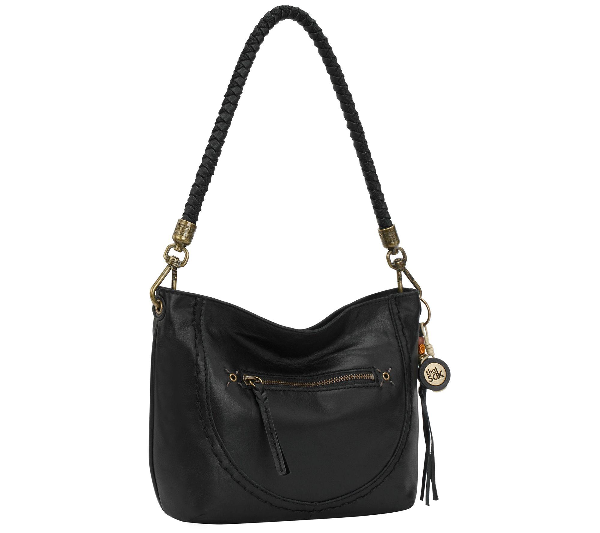 32ee189bad The Sak Indio Leather Demi Hobo Bag — QVC.com