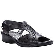 Propet Laser-Cut Leather Sandals - Winnie - A423522