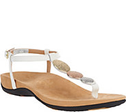 Vionic Orthotic T-strap Sandals w/ Ankle Strap - Lizbeth - A263523