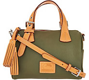 Dooney & Bourke Patterson Pebble Leather Small Kendra Satchel - A296323