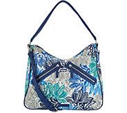 Vera Bradley Signature Vivian Zip Top Hobo Handbag - A304123