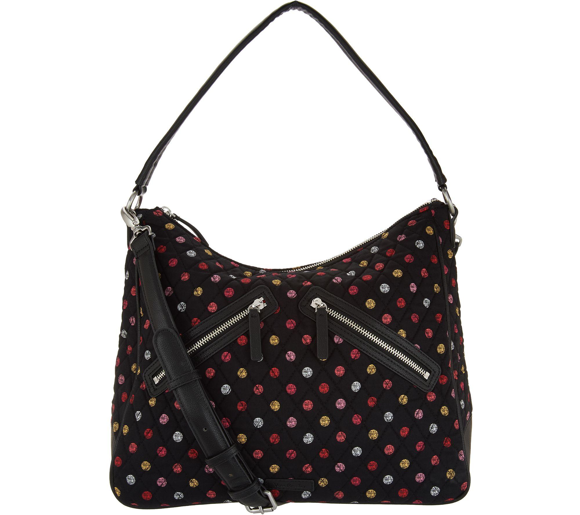 4f83c5c9e0 Vera Bradley Signature Vivian Zip Top Hobo Handbag - Page 1 — QVC.com