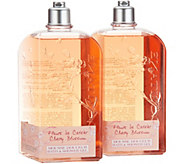 LOccitane Super-size Bath & Shower Gel Duo in Cherry Blossom - A308423