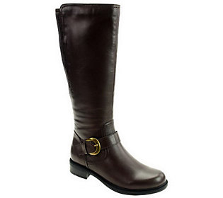 David Tate Branson Knee High Leather Boots-18