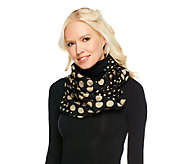 Liz Claiborne New York Twin Dot Infinity Scarf - A240524