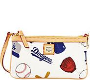 Dooney & Bourke MLB Dodgers Large Slim Wristlet - A280124