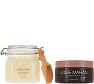 Josie Maran Whipped Argan Body Butter & Sugar Balm Scrub Duo - A281424