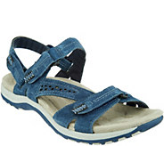 Earth Origins Suede Sport Sandals - Sullivan - A306324