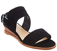 Vince Camuto Suede Low Wedge Sandals - Raner - A306424