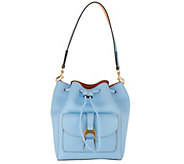 Dooney & Bourke Emerson Leather Drawstring Bag - Marlowe - A308724